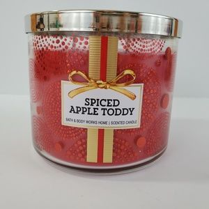 Bath & Body Works Spiced Apple Toddy Candle New